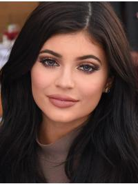 Affordable Long Wavy Black Layered Kylie Jenner Inspired Wigs