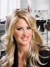 Gorgeous Blonde Wavy Long Kim Zolciak Wigs